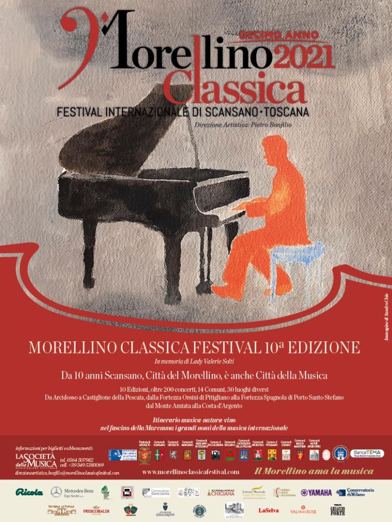 Locandina ufficiale del Festival 2021